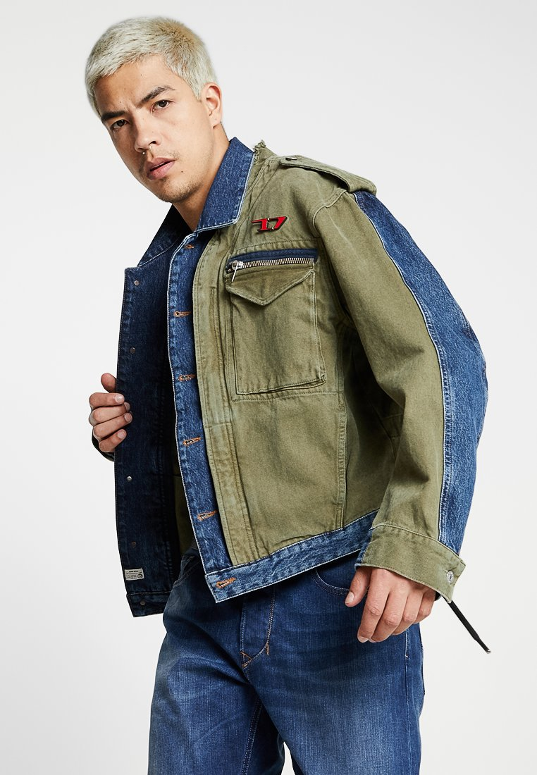 Diesel - D-MALLY JACKET - Denim jacket - indigo