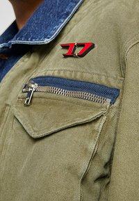 Diesel - D-MALLY JACKET - Denim jacket - indigo - 6