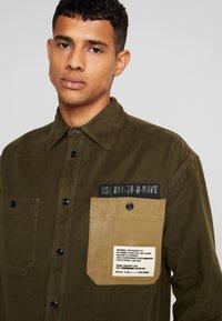 Diesel - LEBED SHIRT - Overhemd - khaki - 3
