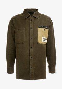 Diesel - LEBED SHIRT - Overhemd - khaki - 4