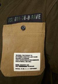 Diesel - LEBED SHIRT - Overhemd - khaki - 5