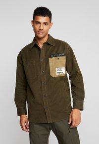 Diesel - LEBED SHIRT - Overhemd - khaki - 0