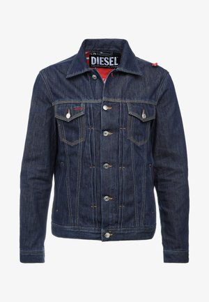 DIESEL X COCA-COLA CC-NHILL-W - Jeansjacka - dark blue denim