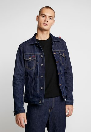DIESEL X COCA-COLA CC-NHILL-W - Džínová bunda - dark blue denim