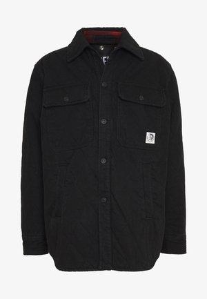 D-WELLES JACKET 2 IN 1 - Džínová bunda - black