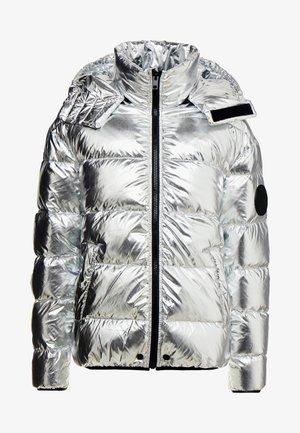 SMITH JACKET - Gewatteerde jas - silver