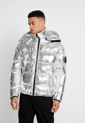 SMITH JACKET - Gewatteerde jas - silver