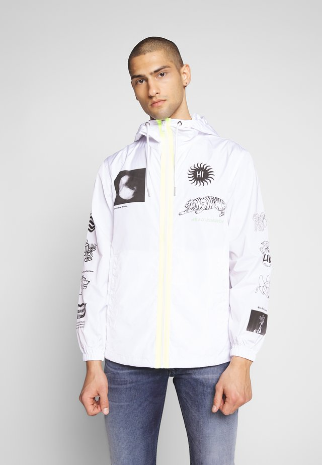 HEAD JACKET - Summer jacket - white
