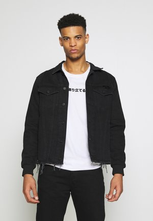 D-BLIT JACKET - Denim jacket - black