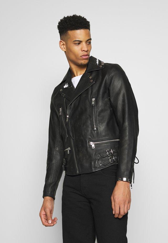 L-GOTIV-A  - Leren jas - black