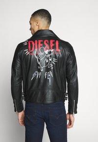 Diesel - CL-L-GOTIV-LITM CHINA LUX - Kožená bunda - black - 0
