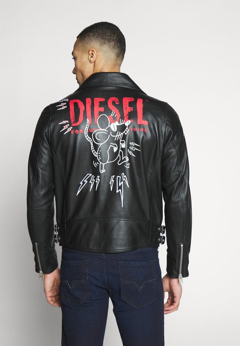 Diesel - CL-L-GOTIV-LITM CHINA LUX - Kožená bunda - black