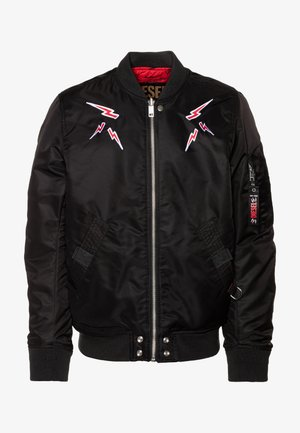 ROSS CHINA LUX - Bomber Jacket - black