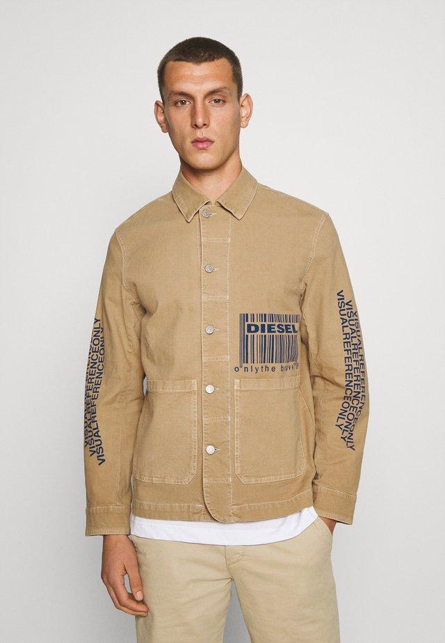 D-KIMMY-SP-NE JACKET - Summer jacket - camel