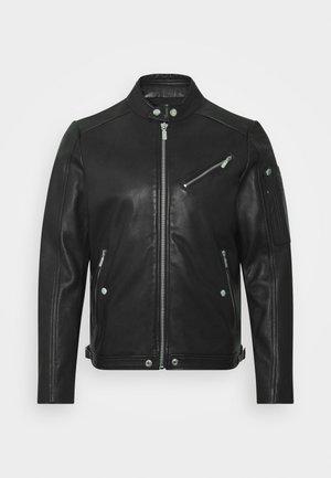 L-CASE-KA JACKET - Leather jacket - black