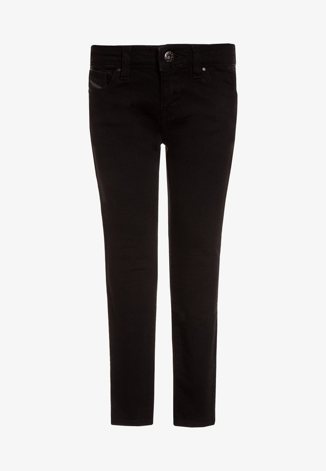 SLEENKER-J-N PANTALONI - Slim fit jeans - black denim