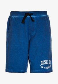 Diesel - PILLOR CALZONCINI - Teplákové kalhoty - blue - 0