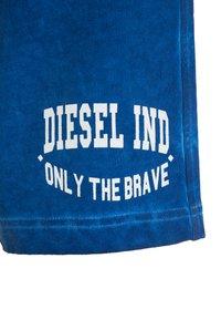 Diesel - PILLOR CALZONCINI - Teplákové kalhoty - blue - 4