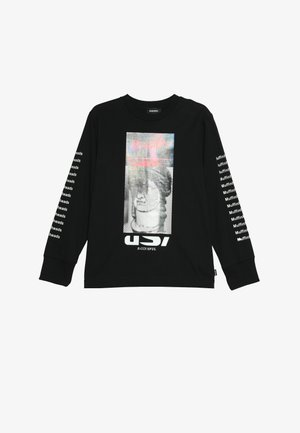 TLARGEX MAGLIETTA - Long sleeved top - nero