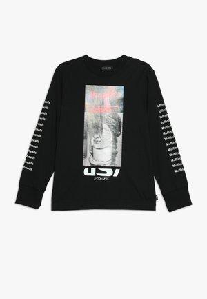 TLARGEX MAGLIETTA - T-shirt à manches longues - nero