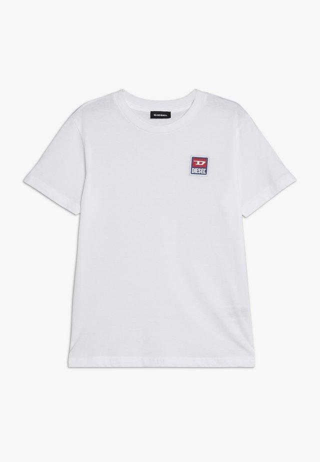 TDIEGODIV - Print T-shirt - bianco