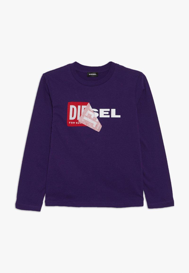 Diesel - TOBBY SLIM 2 C-C T-SHIRT - T-shirt à manches longues - intense purple