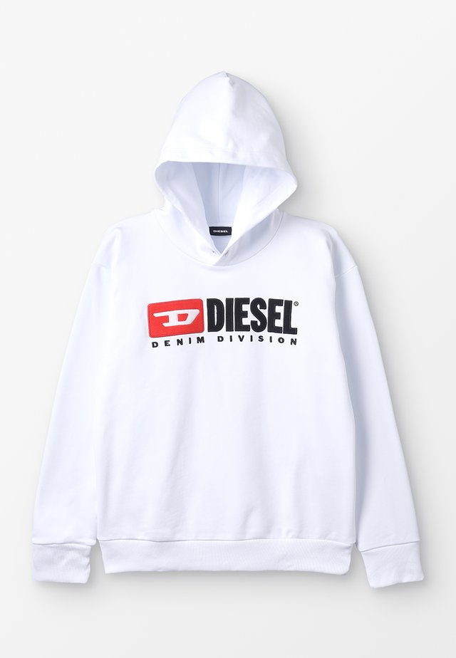 SDIVISION OVER FELPA - Hoodie - white