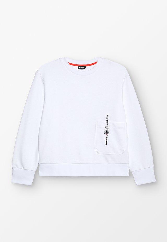 SELLISX OVER FELPA - Sweater - white