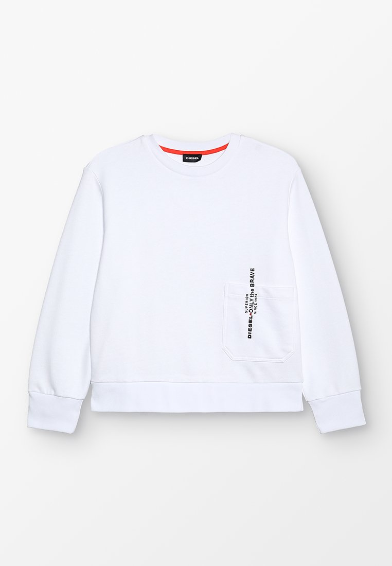 Diesel - SELLISX OVER FELPA - Sweatshirt - white