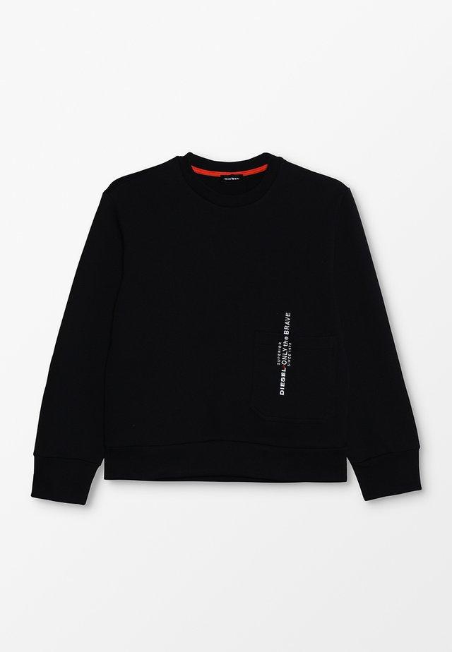 SELLISX OVER FELPA - Sweatshirt - black