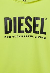 Diesel - SDIVISION-LOGO OVER - Hoodie - super bright yellow - 2