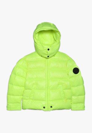 JIAN GIACCA - Gewatteerde jas - bright yellow