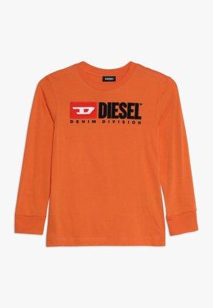 TJUSTDIVISION MAGLIETTA - T-shirt à manches longues - harvest pumpkin