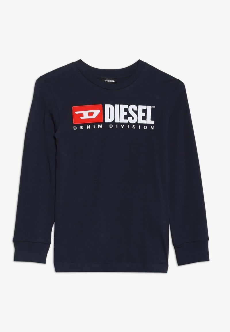 Diesel - TJUSTDIVISION MAGLIETTA - Long sleeved top - dark blue
