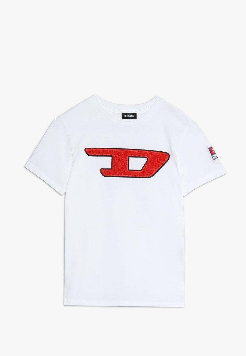 Diesel - TJUSTDIVISION-D MAGLIETTA - T-shirts print - bianco