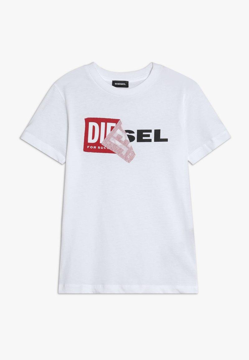 Diesel - TDIEGO - T-shirt con stampa - bianco