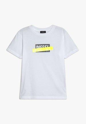 TJUSTDIE - Print T-shirt - bianco