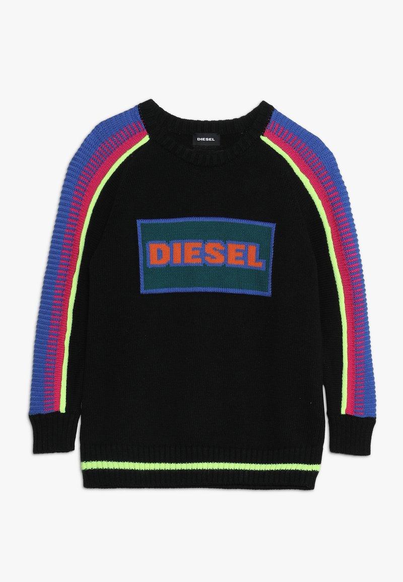 Diesel - KFLOTYA MAGLIA - Jumper - nero