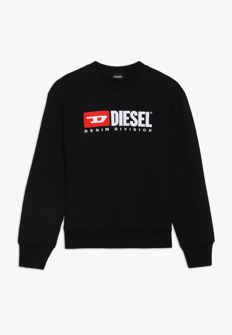 Diesel - SCREWDIVISION OVER - Sweatshirt - nero