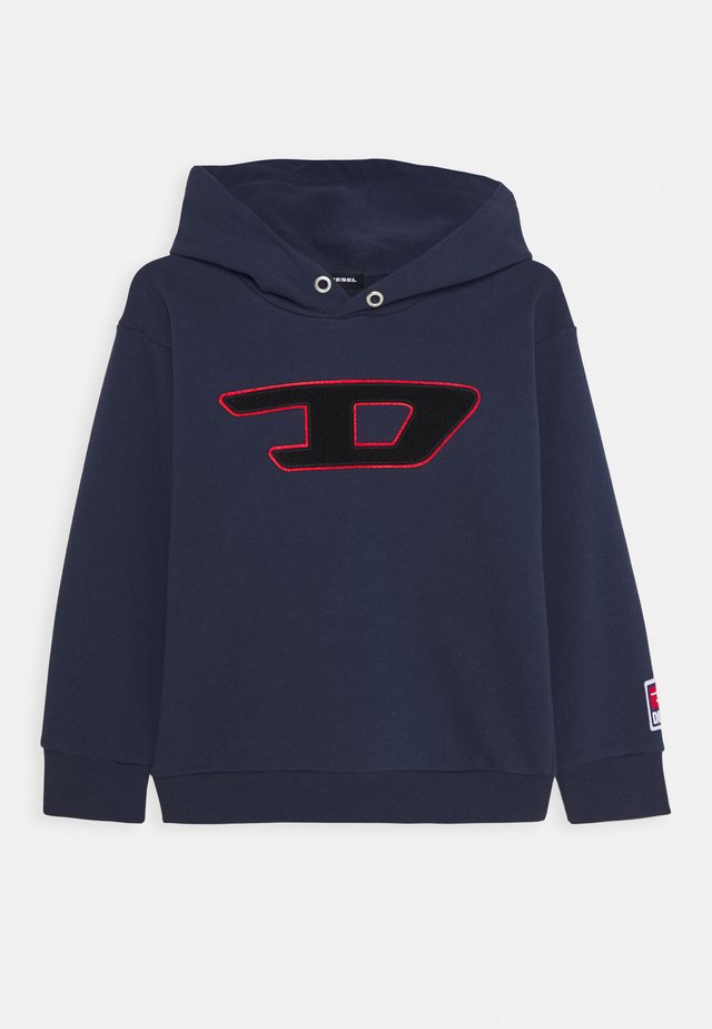 SDIVISION-D OVER FELPA - Hoodie - peacoat blue