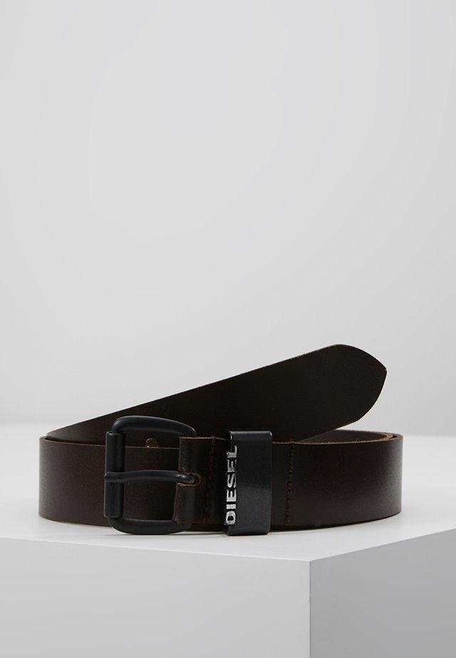 B-ZANO - BELT - Vyö - dark brown