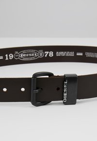 Diesel - B-ZANO - BELT - Pásek - dark brown