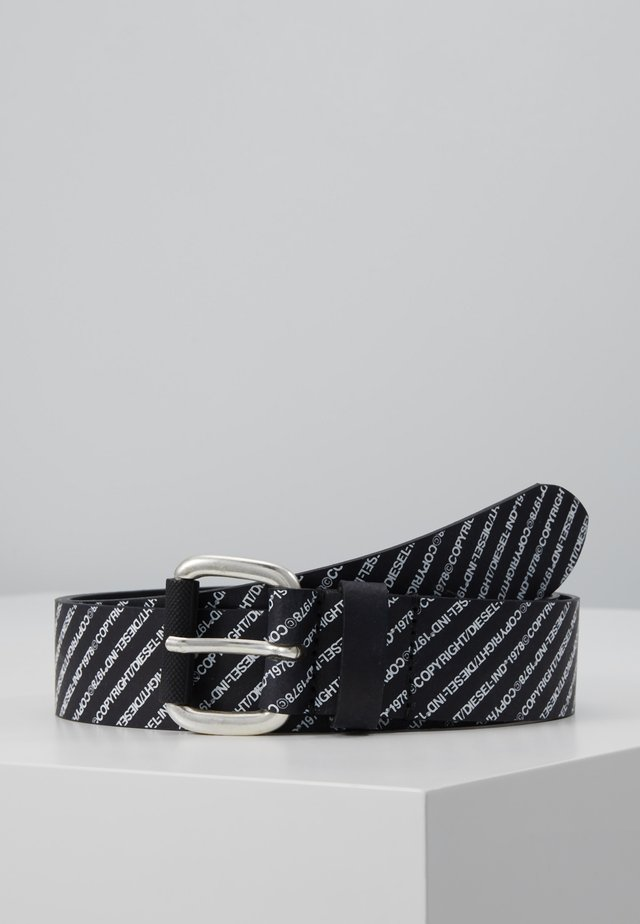 B-COPIRY - BELT - Pasek - black