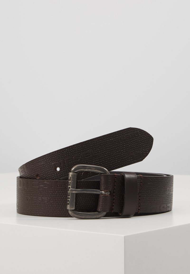 Diesel - B-LIZZY - BELT - Pásek - coffee bean