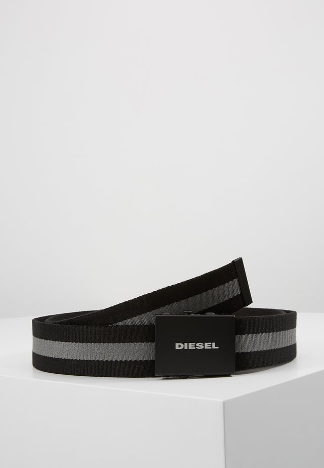 B-PLATA - BELT - Belt - black/graystone
