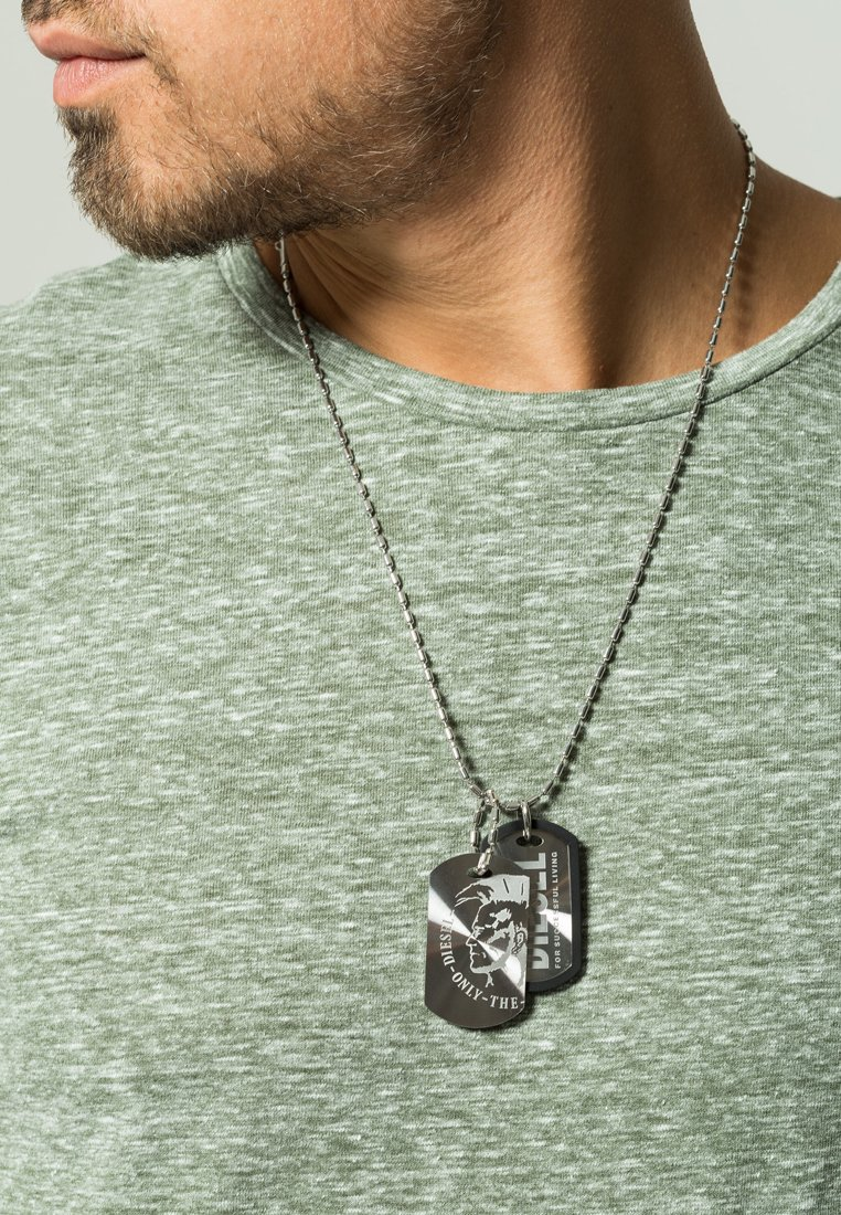 Diesel - Collier - silver-coloured
