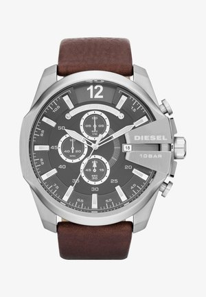 Chronograph watch - dark brown