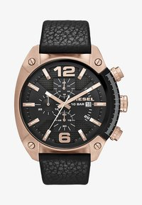 Diesel - OVERFLOW - Chronograph watch - black - 1