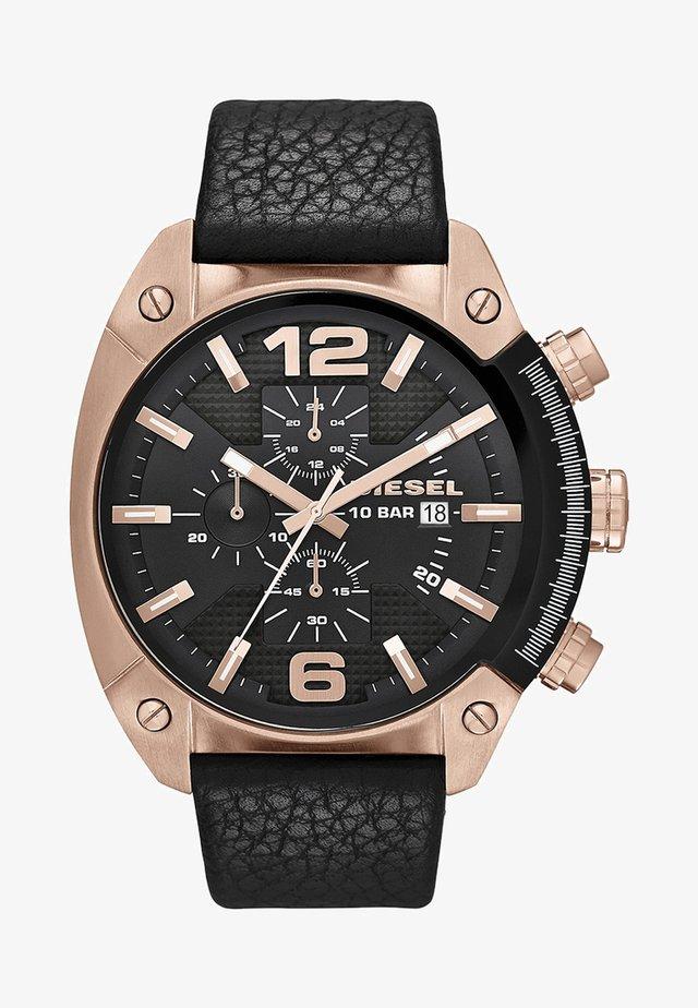 OVERFLOW - Chronograph watch - black