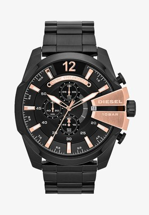 MEGA CHIEF - Chronograph watch - black